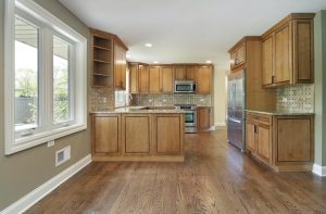 new kitchen flooring with remodel