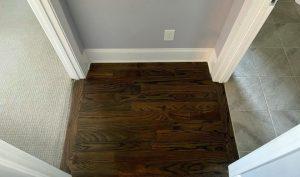 mixing flooring materials